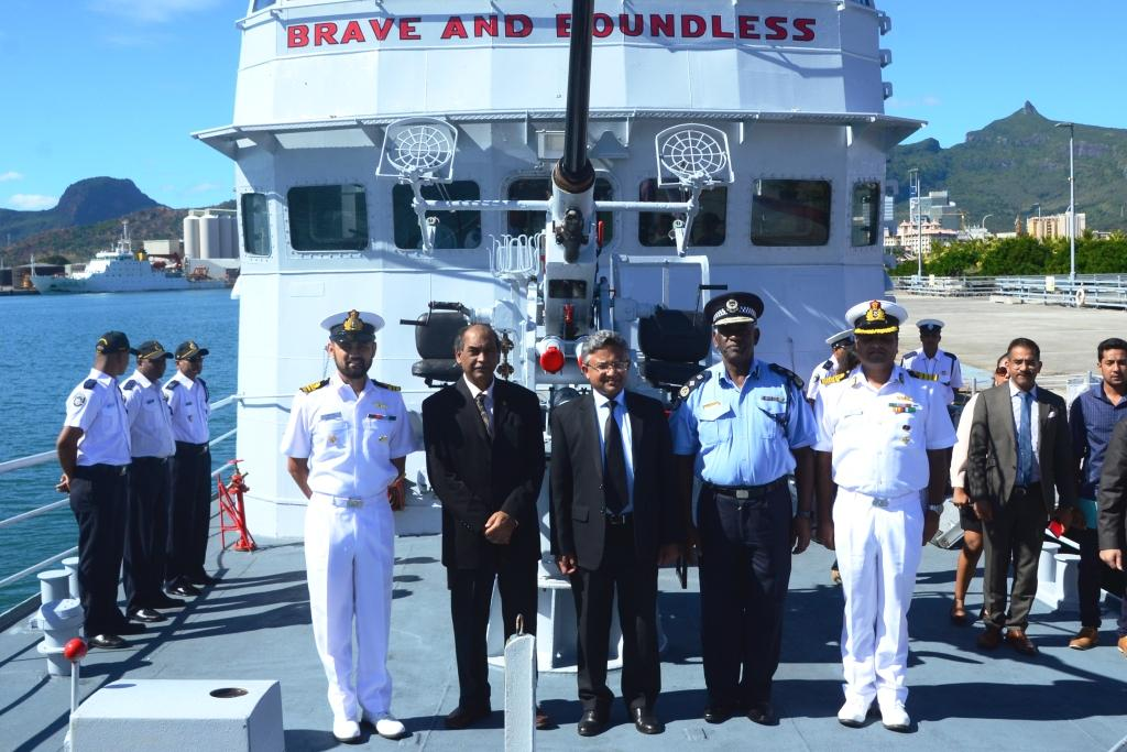 CGS Guardian arrives in Mauritius after a six-month refurbishment in India