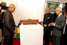Indian President unveils foundation stone of new ENT Hospital