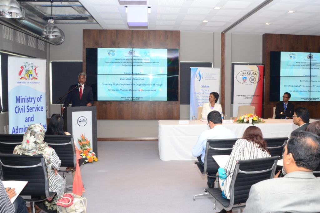 HR Managers trained on Strategic Human Resource Management