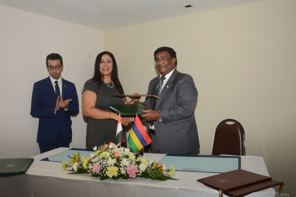 Bilateral Cooperation: Mauritius and Egypt sign MoUs on Cultural and Media cooperation