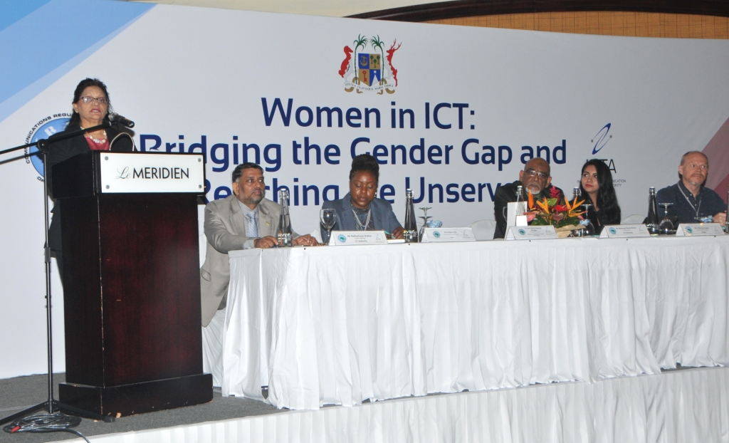 Workshop addresses Gender Gap in the use and access to ICT
