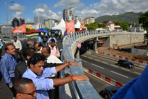Road Decongestion Programme: Decaen Fly-Over in Port Louis now operational