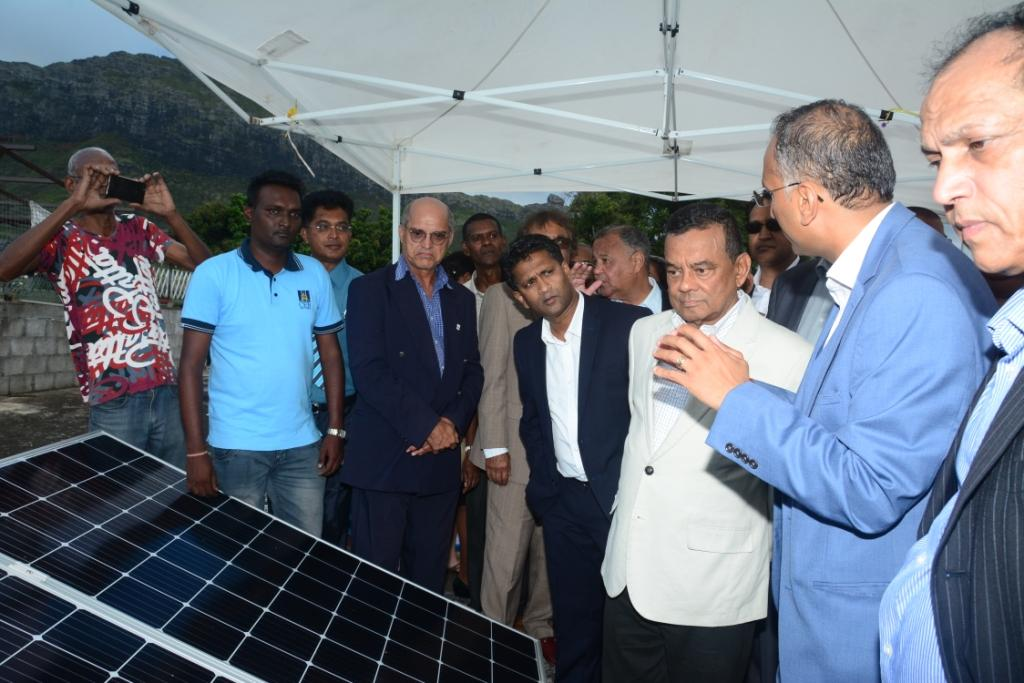 DPM awards Home Solar Project certificates to beneficiaries of Trèfles