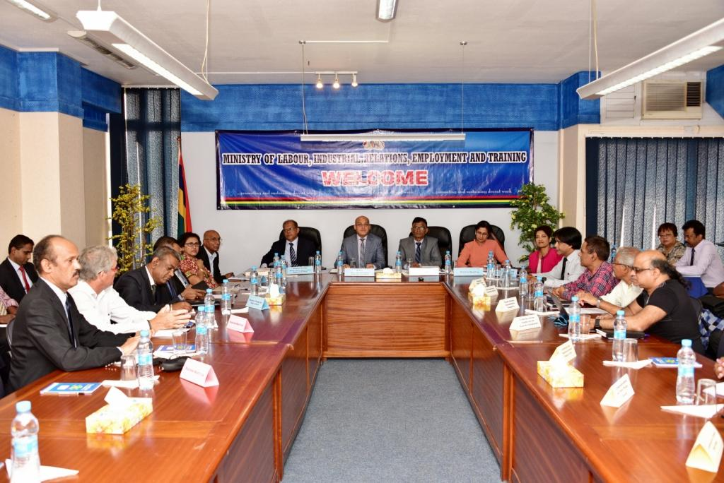 Technical Committee meets to discuss salary compensation