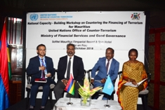 Workshop on Countering the Financing of Terrorism for Mauritius kickstarts