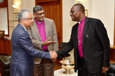 Mauritius a model of peace, says General Secretary of the Anglican Communion