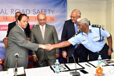 There will be no compromise in ensuring Road Safety, says Minister Mentor