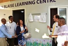 Learning Centre in Pointe aux Sables to enhance community interaction and propose learning activities