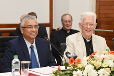 Pope Francis's visit to Mauritius is a landmark event for the country, says Prime Minister