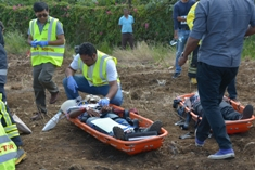 NDRRMC organises off-airport aircraft crash simulation exercise at Belle Vue