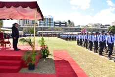 Passing out Parade of Temporary Police Constables