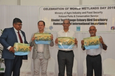 Safeguard wetlands to maintain a resilient ecosystem, says Minister Seeruttun
