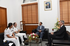 French Ambassador discusses naval cooperation with Minister Mentor
