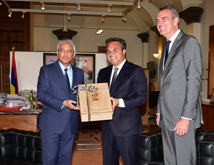 IOIG 2019: President of the Regional Council of Reunion Island meets Prime Minister Jugnauth