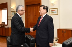 Vice President of the National People's Congress of the People's Republic of China calls on the Prime Minister