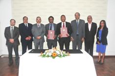 Signature of MoU to ensure bankability of the Special Economic Zones