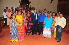 Minister Mentor meets members of Mapou Senior Citizens Association