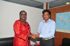 New UNDP representative reaffirms support for climate change and blue economy