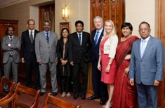 High-level meeting reinforces partnership ties between the EU and Mauritius