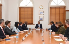 Visit of World Bank Group Executive Directors: Discussion focused on Mauritius' transformation to a high-income economy