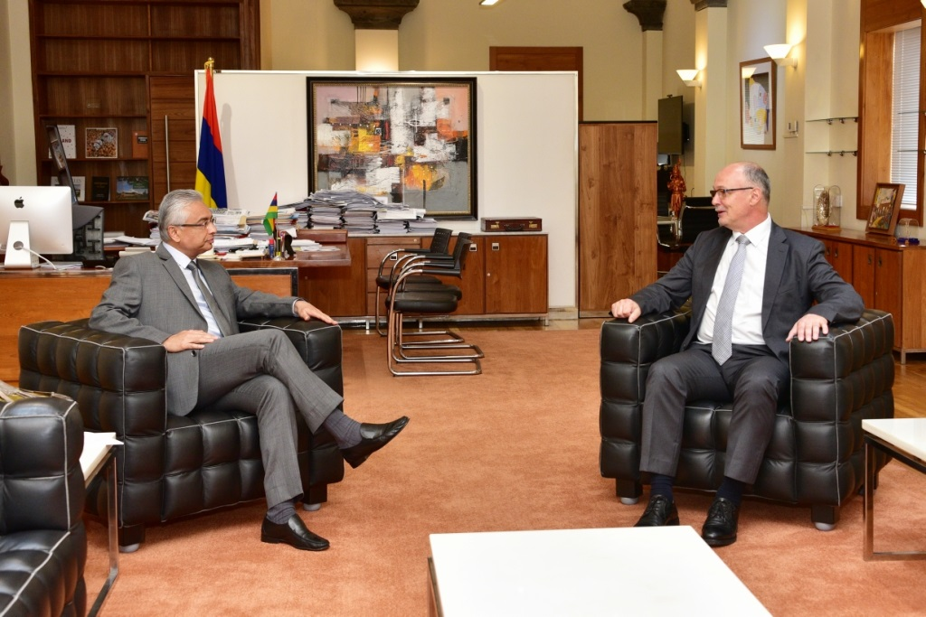 Ambassador of the Kingdom of Belgium meets Prime Minister