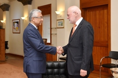 Ambassador of the Kingdom of Netherlands calls on Prime Minister Jugnauth