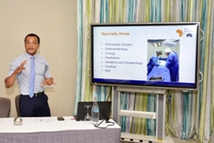 Junior doctors familiarised with Laparoscopic Gynaecology Surgery