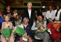 Prime Minister Jugnauth highlights measures and initiatives taken for the welfare of the elderly
