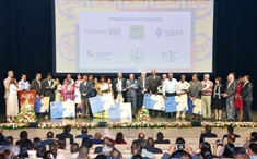 Cooperatives rewarded for outstanding performances at the National Awards for Cooperatives