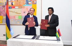 UNODC and Mauritius reinforce partnership ties aimed at enhancing synergies