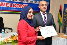 Certificates handed over to 96 women under the Back To Work Programme