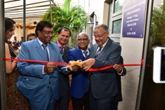 Inauguration of new National Identity Card Unit at Flacq