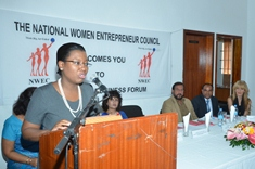 Initiative du National Women Entrepreneur Council: Le Forum «Les femmes parlent business»se tient à Triolet